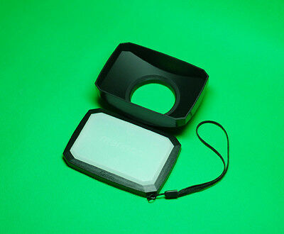 52mm 16:9 Wide Angle Lens Hood for  Sony FDR-AX33 Camcorder