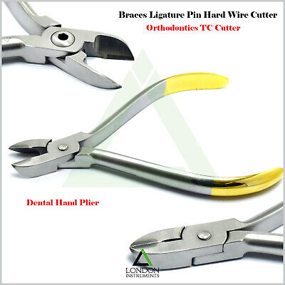 Orthodontic Hard Wire Cutter TC Braces Bracket Ligature Cutting Ortho Pliers