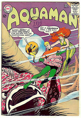 Aquaman #19 (DC 1965, vf+ 8.5) guide value in this grade: $70.00 (£62.00)