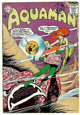 Aquaman #19 (DC 1965, vf- 7.5) guide value in this grade: $58.00 (£51.00)