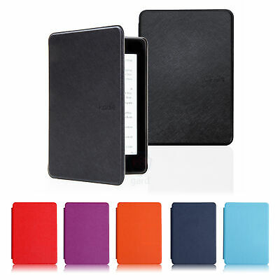 For Amazon Kindle Paperwhite 10th Generation 2018 PU Leather Smart Stand Case