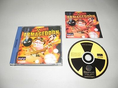 Worms Armageddon    - Sega Dreamcast / DC / PAL / S10