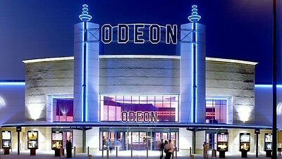 7 x Odeon cinema tickets Adult and Kids £53.50 All UK - INSTANT EMAIL DELIVERY