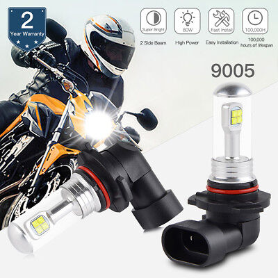 Bevinsee 9005 HB3 Motorcycle LED Headlight Bulb For Ducati 749 999 R S 2003-2005