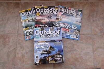 OUTDOOR Photography Magazine 2009 (complete 12 issues Set.)