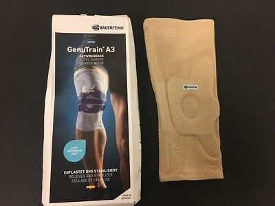 6bce626011 Bauerfeind - GenuTrain - Right Knee Support Brace - Size 2 - Color Nature