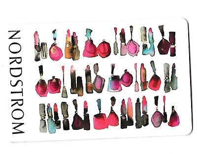 Nordstrom no value collectible gift card mint #36 Lipsticks
