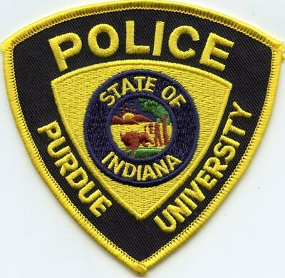 Purdue University Indiana In Campus Police Patch