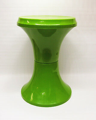 Action Tulip Stool Green Made in Italy Space Age / Mid Century