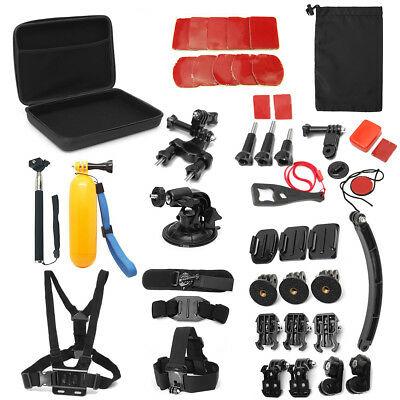 UK 20 In 1 Sport Camera Mount Accessories Kit + Case For Gopro HD Hero 5 4 3 2 1