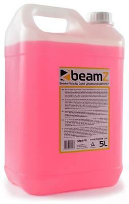 Beamz ECO Nebelfluid auf Wasserbasis 5L Kanister - CO2-Effekt, quick Dispersion