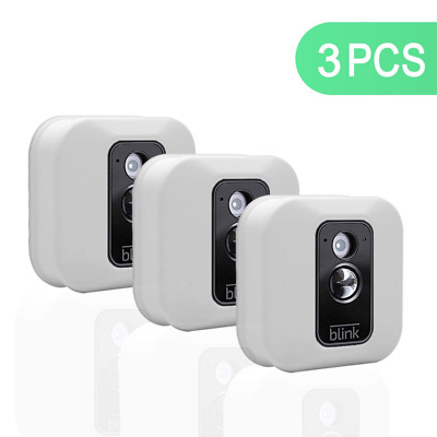 3 x Silicone Case Cover for Blink XT Security Camera Camouflaged Waterproof Skin