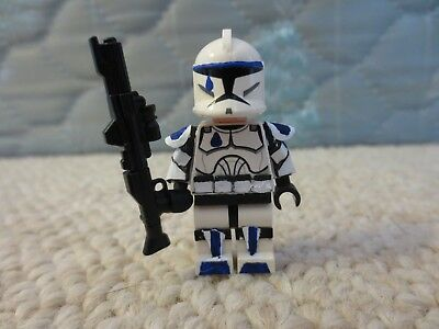 LEGO Star Wars Clone Trooper Dogma Custom 501 Minifigure 75002 75004 75021 75012