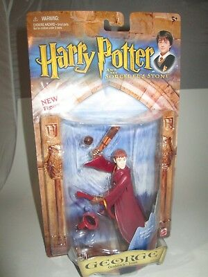 Harry Potter And The Sorcerer's Stone Quidditch Team George Figure-Mattel-A11807