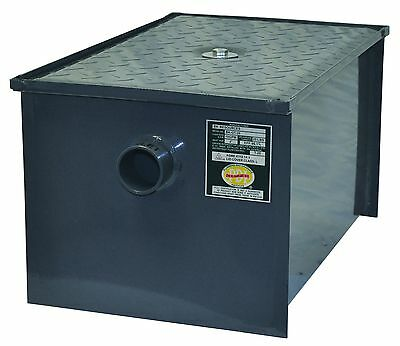 40 pound grease trap