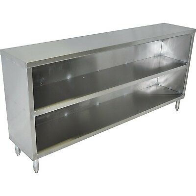15x72 Stainless Steel Dish Cabinet
