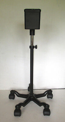 Patient monitor mobile stand for blood pressure meter/vital signs, rolling cart