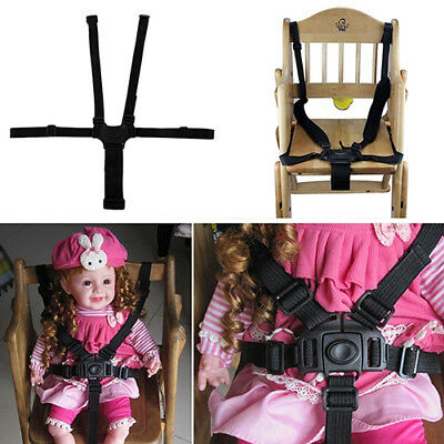 BL_ Baby 5-Point Safety Harness Belt Seat Belts For Stroller High Chair Strap ta
