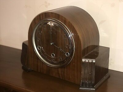 Bentime Mantel Striking Clock Westminster Chime