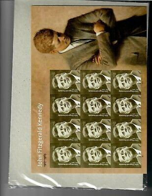 US Stamps John Fitzgerald Kennedy sheet