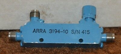 ARRA 3194-10 Miniature Stripline Directional Coupler 1 - 2 Ghz 20db