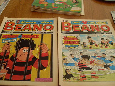 The Beano Comic Issue's No 2442 / 2443 1989