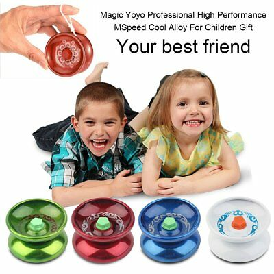 Magic Yoyo Professional High Performance Speed Cool Alloy For Children Gift SI
