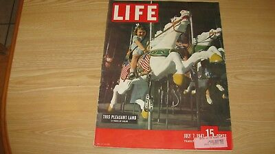 1947 Life Magazine July 7   This Pleasant Land  High Grade  Lowest Price On Ebay