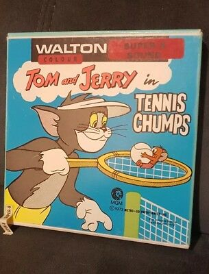 Tom And Jerry Super 8mm - Tennis Chumps - Walton Colour And Sound