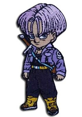Dragon Ball Super Dbz Future Trunks Patch Iron On Cosplay Dragonball License New
