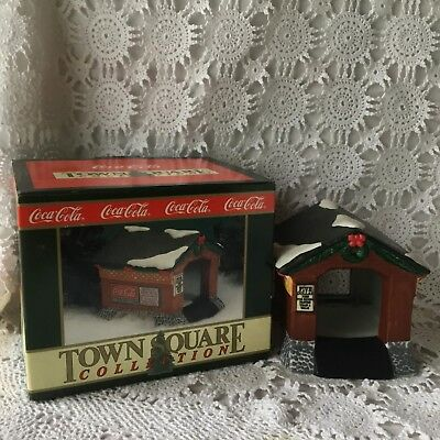 Coca Cola Town Square Collection The Covered Bridge Holiday Christmas