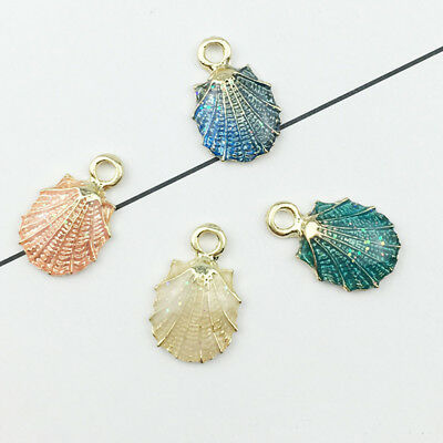 Conch Sea Shell Pendant DIY Charms For Jewelry Making Accessories 13 Pcs/set