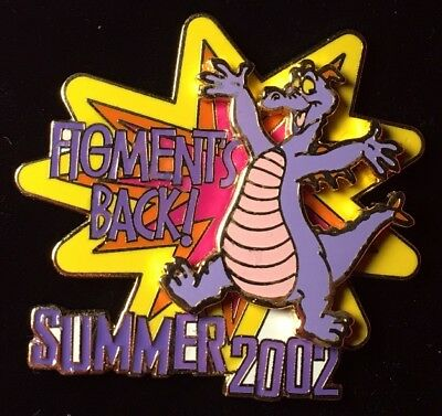 DISNEY PIN - FIGMENT is Back Summer 2002 WDW LE