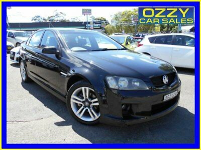 2007 Holden Commodore VE SV6 Black Automatic 5sp A Sedan