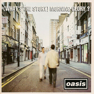 Oasis What's The Story Morning Glory limited WHITE vinyl 2 LP g/f
