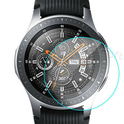 For Samsung Galaxy Watch 46mm Heavy-Duty 9H Tempered Glass Screen Protector USA
