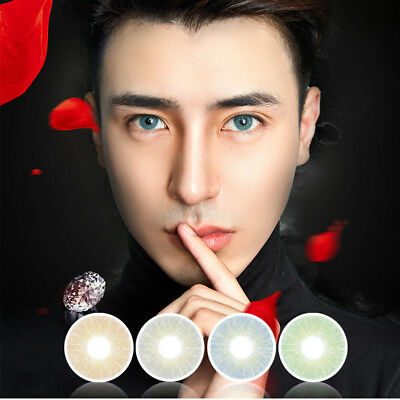 Soft Big Eyes Contact Lenses Xmas Party Cosplay Cosmetic Makeup Gift Nouveau