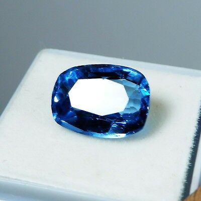 7.30 CT. Natural Certified Aquamarine Oval Cut Blue-Color Loose Gemstone
