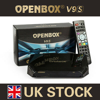 GENUINE OPENBOX V9S FULL HD Freesat PVR Digital TV Satellite Receiver Fit  IPTV