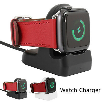 QI Wireless Stand Charging Charger Dock for apple Series 4 3 2 1 Watch iWatch