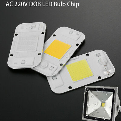 AC 220V Dimmable LED COB Lamp Chip 20W 30W 50W Smart IC Driver