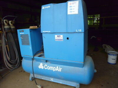 compair air compressor 8 bar L15