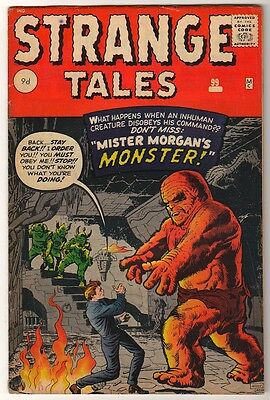 MARVEL Comics STRANGE TALES 99 VG+ MID grade MR MORGANS MONSTER KIRBY DITKO