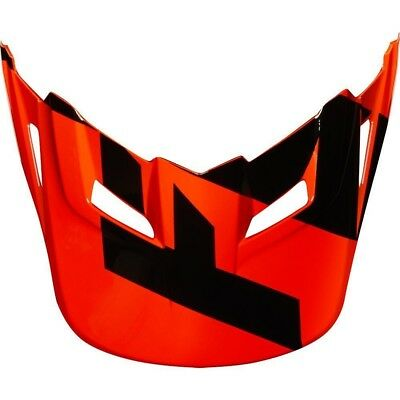 Fox Racing MX Spare Parts Mx18 Yth V1 Helmet Visor Mastar Orange One Size 21307