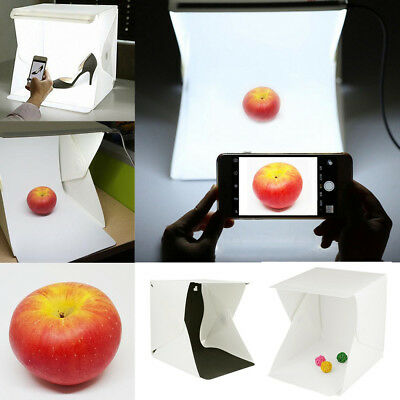Hot Mini Box Light Room Photo Studio Photography Lighting Tent Kit Backdrop Cube