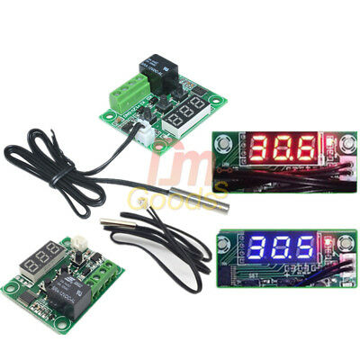 W1209 DC 5V AC 110-220V Digital Thermostat Temperature Control Switch Sensor