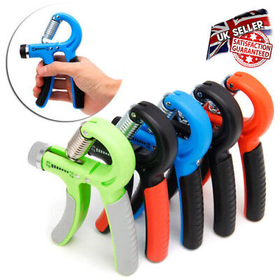 Adjustable UK Hand Grip Fitness Pinch Meter Hand Portable Expander Gripper Tool