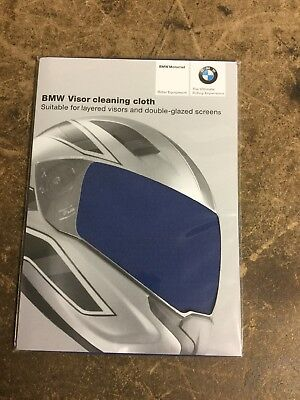 BMW Motorrad Motorcycle Helmet Cleaning Cloth NEW