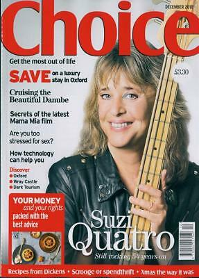 Choice Magazine December 2018: SUZI QUATRO COVER STORY