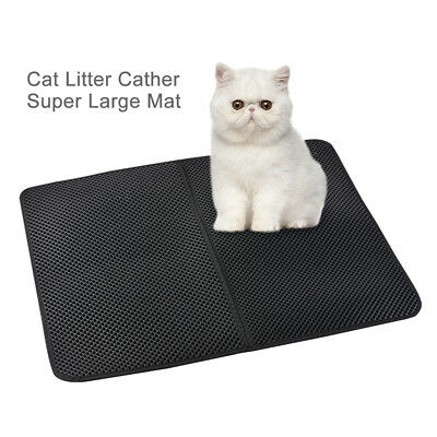 Waterproof Double Layer Large Size Cat Litter Mat Pet Non-Toxic Clean Tool PS235